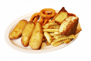Cod Fish with fries